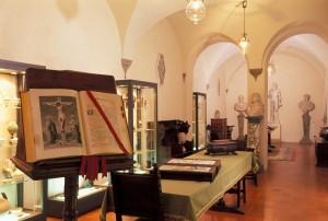 ITALY - AREZZO Casa Museo Ivan Bruschi piano terra: Sala degli Imperatori veduta della sala