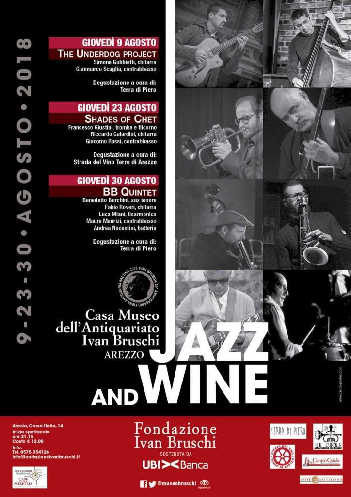 CasaMuseo_jazz&wine_locandina_2018