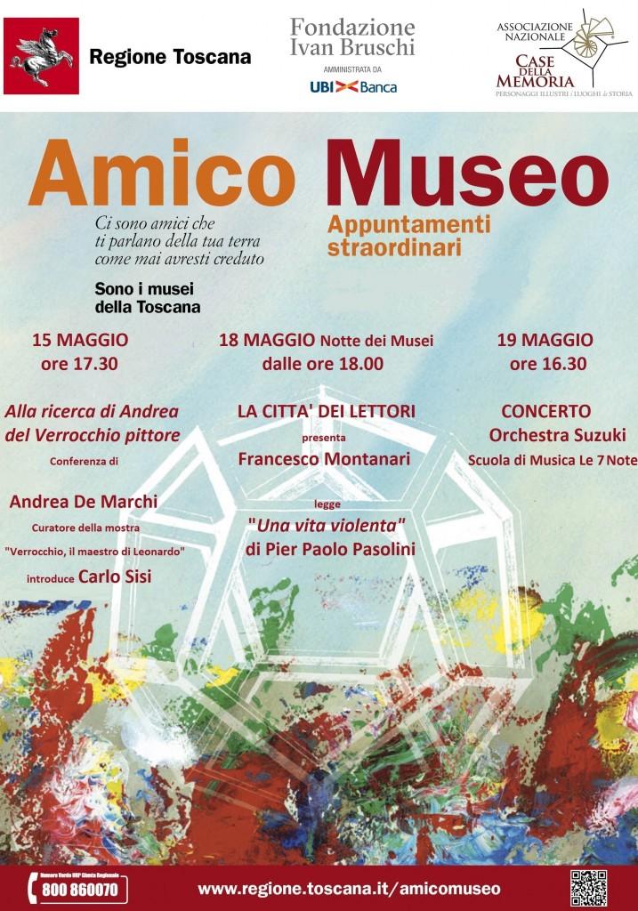 Manifesto Amico museo_2019 - Eventi corretto