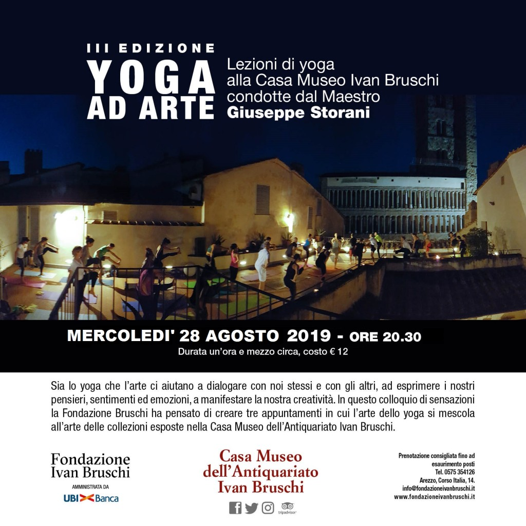 Locandina YOGA AD ARTE 2019 - Copia